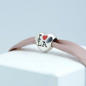Pandora I Love Los Angeles Charm